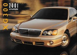 2001 Hyundai XG300 sales brochure catalog US 01 XG Grandeur L - $8.00