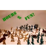 THROWBACKS! 180 Army Men w/ 19 Extras, Various Military Toy Soldiers - $39.99