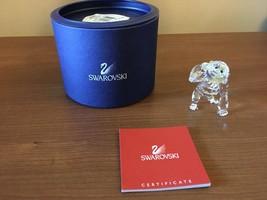 Swarovski Crystal Mint Figurine Young Gorilla W/ Bananas 273394 MIB W/COA - $99.00