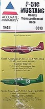 Accurate Miniatures 1/48 Kit 0013,  P-51C Mustang,  Bendix Transcontinental Race image 3