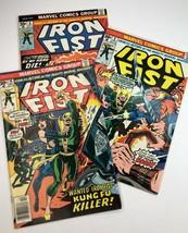 Iron Fist Vintage Comic #8 #9 #10 Marvel Comics 1976 Lot of 3 - $36.47
