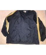 AEROPOSTALE ~ Vtg Men's Navy Blue Gold Track Hideaway Jacket Fanny Pack ... - $16.82