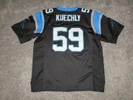 Nike Authentic Luke Kuechly Carolina Panthers Jersey, Size 48 or Large, Black - $32.71