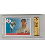 2006 TOPPS MICKEY MANTLE NY YANKEES MHR1  MINT 10 CGGS - $6.66