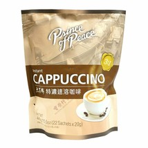 Prince Of Peace 3-IN-1 Instant Cappuccino, (22 Sachets) - $24.75