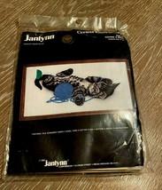 Janlynn Crewel Embroidery Kit Having A Ball Kitten Virginia Miller #36-1... - $19.79
