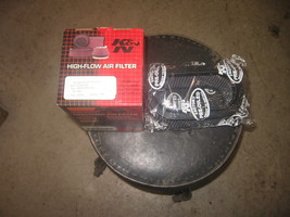 NOS K&N SP-2742 HIGH FLOW AIR FILTER 1995-2003 OVAL SCRAMBLER MAGNUM 287... - $19.80
