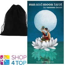SUN AND MOON TAROT DECK VANESSA DECORT ESOTERIC US GAMES SYSTEMS WITH VE... - $30.58