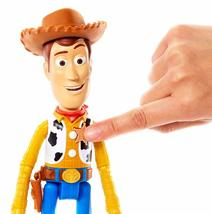"Disney Pixar Toy Story 4 True Talkers Talking Woody Figure 9.2"" BRAND NEW image 3"
