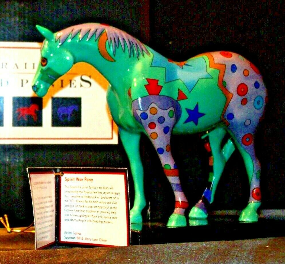 Trail Of Painted Ponies #1462 Spirit War Pony Westland Giftware By Tavlos AA-191