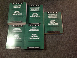 2004 JEEP GRAND CHEROKEE Service Shop Repair Manual Set OEM W Diagnostics - $296.99