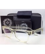 New CHROME HEARTS Eyeglasses HARD WC Clear - Buff Frames w/ Sterling Sil... - $999.95