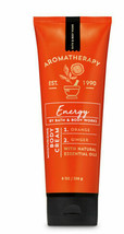 Bath & Body Work Aromatherapy ENERGY ORANGE GINGER Body Cream 8 oz! - $15.50