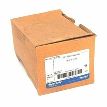 """BOX OF 10 NEW STEEL CITY T0-222 OFFSET CONNECTORS 3/4"""", T0222"""