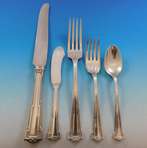 Dauphine by Wallace Sterling Silver Flatware Set 8 Service 42 pcs Dinner  - $2,495.00
