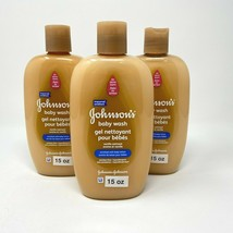 Johnsons Lot/3 No More Tears 15 Oz Vanilla Oatmeal Enriched Lotion Baby ... - $27.95