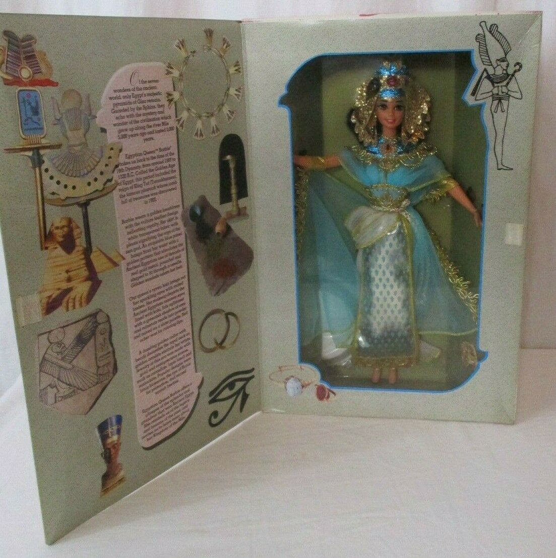 Primary image for 1993 Barbie Egyptian Queen Doll Mattel No 11397 The Great Eras  NRFB