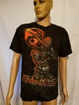 G.I. Joe Rise Of The Cobra 2009 Paramount Hasbro Shirt Big Graphic Large 2 Sided - $16.90