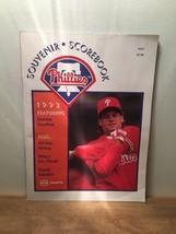 MLB Collectible Scorebook- May 1993 Souvenir Scorebook-Philadelphia Phillies - $7.91