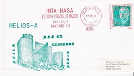 HELIOS-A INTA-NASA MADRID SPAIN 12/19/1974 - $1.98