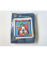 Disney Mickey Unlimited Goofy Fabric Applique Craft Kit by Caron - $8.99