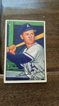 1952 BOWMAN BASEBALL CARD EDDIE JOOST PHILADELPHIA ATHLETICS A'S # 26 - $7.99