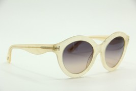 NEW TOM FORD TF 359 21B CHIARA PEARL GRADIENT AUTHENTIC SUNGLASSES 55-22... - $236.55