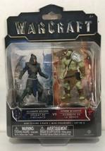Warcraft - Alliance Soldier vs Hord Warrior - Action Figures - 2018 - $12.82