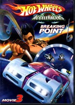 DVD - Hot Wheels AcceleRacers Breaking Point DVD Movie 3  - $4.95