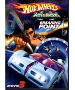 DVD - Hot Wheels AcceleRacers Breaking Point DVD Movie 3  - $10.00