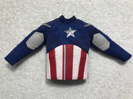 Avengers Captain America Uniform Jacket 1/6th Scale MMS 174 - Hot Toys 2012 - $43.53