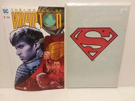 SUPERMAN: KRYPTON: SYFY SPECIAL INSERT COMIC + SUPERMAN 500 BAG - FREE S... - $14.03