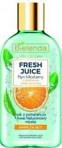 Bielenda FRESH JUICE Moisturizing Micellar Water Cleanser Toner ORANGE 1... - $9.12