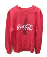 Coca-Cola Contour Bottle Silhouette Fleece Sweatshirt Super Soft 2XL 2X-... - $44.55