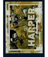 2017 Topps Fire Walk It Off Gold Minted #WO-15 Bryce Harper NM-MT Nati I... - $6.92
