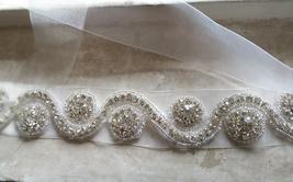 RHINESTONE Sash Belt Wedding Accessories Rhinestone Bridal Bridesmaid Sash NWT image 4