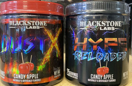 Blackstone Labs Extreme Pre-Workout Stack Dust X & Hype Reloaded - Candy Apple - $70.46