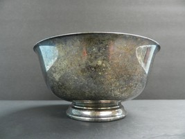"""VINTAGE Reed & Barton Paul Revere Silver Plate Bowl # 103  6.5""""x3.25 tall - $29.70"""