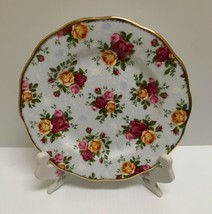 ❤RARE 2002 ROYAL ALBERT OLD COUNTRY ROSES BLUE DAMASK DINNER SALAD LUNCH... - $32.50