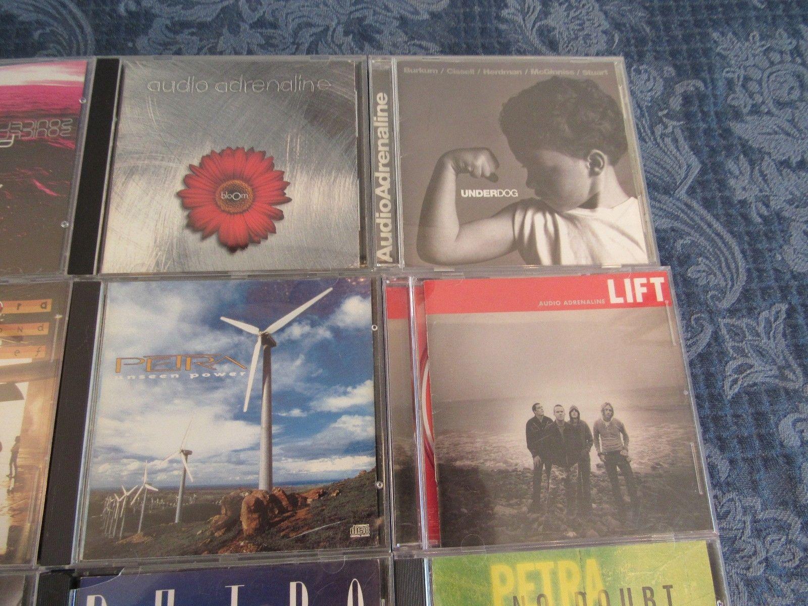 Petra CD Lot Christian Rock Metal Sonic Flood Audio Adrenaline 16 Petraphonics