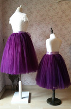 Mommy & Me TUTU Skirts Set Mommy Daughter Tutu Photo Prop Tulle Skirt Plus Size image 5