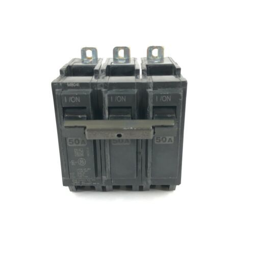GE DP-4525 3-Pole Unit Circuit Breaker 50A TYPE THQB - $18.70