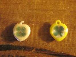 Cracker Jack Four Leaf Clovers Good Luck Charms Toy Lot of 2 Gum Machine... - $34.84