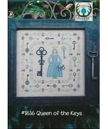Queen of the Keys cross stitch chart Thistles - $10.80