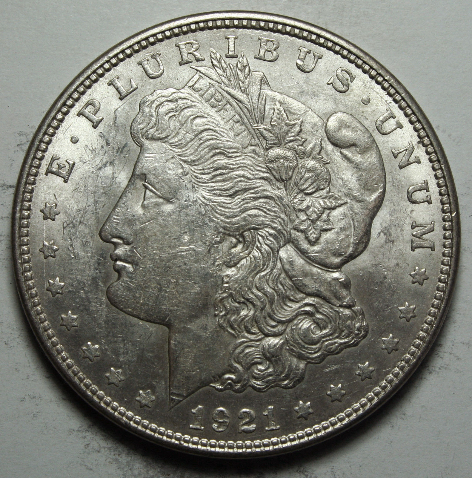 1921D MORGAN SILVER DOLLAR COIN Lot# D 82