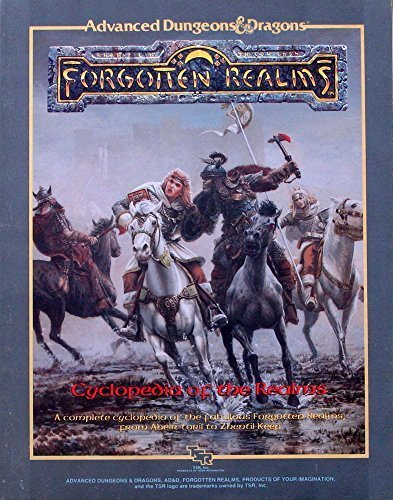 Cyclopedia of the Realms (Advanced Dungeons & Dragons: Forgotten Realms) [Paperb