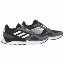 Nuevo Hombre Adidas Run 80S Atletismo Zapatos Atléticos Carbón Negro/ Bl... - $34.95