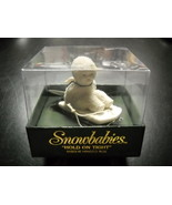 Department 56 Christmas Ornament Snowbabies Hold On Tight Sled is a Hing... - $12.99