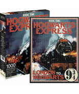 Harry Potter Hogwarts Express 1000 Piece Jigsaw Puzzle Multi-Color - $31.98