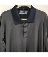 Mens Cutter & Buck DriTec Sport Shirt - Mottled Gray - XL - $15.69
